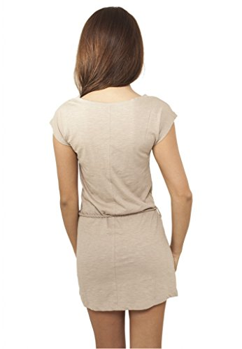 Femmes Jille Jersey Robe blanc