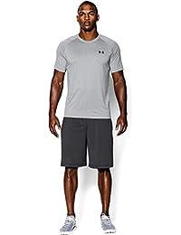 Under Armour Herren UA Tech Ss Fitness T-Shirt, Grau (True Gray Heather), XXL