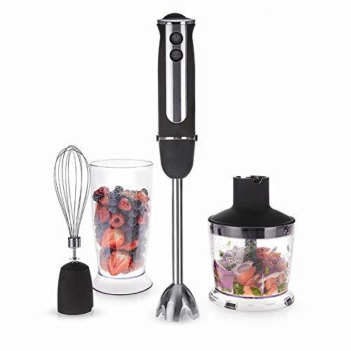 DWYRD Mixer, Kunststoff, Edelstahl, Multifunktion, Überhitzungsschutz, 15000 U/min, Geben Ihrer Familie Beste Ernährung Black