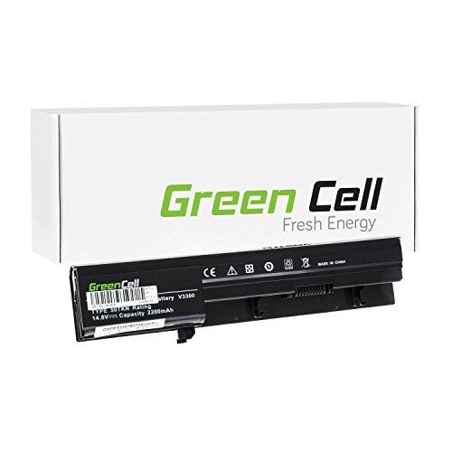 Green Cell® Standard Serie Batteria per Portatile Dell Vostro 3300 (4 Pile 2200mAh 14.8V Nero)