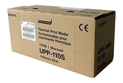 sony-upp110s-high-quality-videographic-thermal-paper-rolls-for-medical-printers-a6-110mm-x-20m