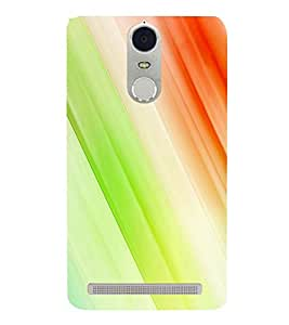 Multicolour Line Pattern 3D Hard Polycarbonate Designer Back Case Cover for Lenovo K5 Note :: Lenovo Vibe K5 Note Pro