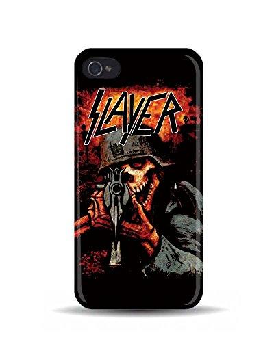 iPhone 5/5S Squelette 'SLAYER' Solider de la Mort 'en Métal Rock 3D Coque téléphone portable