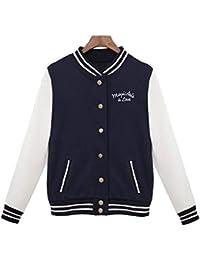 comprar online 3fe32 b3811 Amazon.es: chaquetas universitarias - Mujer: Ropa