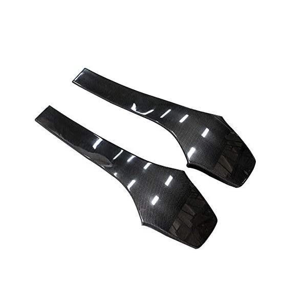 Fandixin Carbon Fiber Seat Back Backseat Trim Covers 4 PCS/Set for F80 M3 F82 M4 Fandixin Will fit for BMW F80 M3 Sedan F82 M4 Coupe 2014-up 2x2 carbon fiber will match OEM CF trim UV-Protective Clear Coated: Fade & Rust Resistant. 4