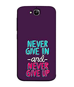 Fuson Designer Back Case Cover for Huawei Honor Holly 2 Plus :: Huawei Honor 2 Plus (Girl Friend Boy Friend Men Women Student Father Kids Son Wife Daughter )