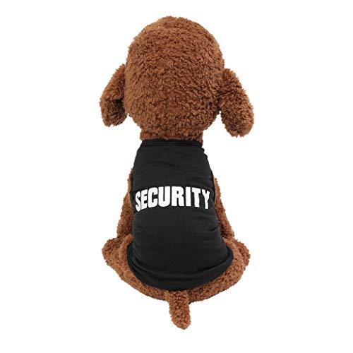 Tee Kostüm Weste - Hundeshirt, Sommershirt für Hund Kleidung Katze Buchstabendruck T-Shirt Weste Rock Kostüm Kleine Pet Sommerund atmungsaktive dünne Kleidung