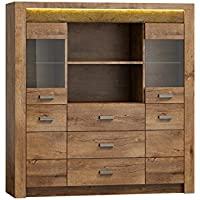 Affordable Highboard Indiano I Kommode Mit Schubladen Anrichte Sideboard  With Esche Hell