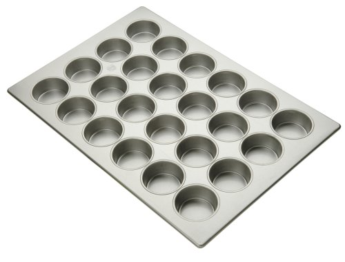 Focus Foodservice Commercial Bakeware Large Muffin Pan 24-Cup Amco Pan