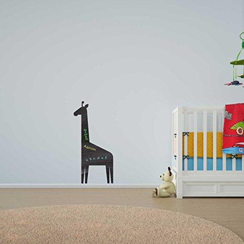 Giraffe Chalkboard Vinyl Wall Art / Lavagna Vinile da Parete / Adesivi per la Casa