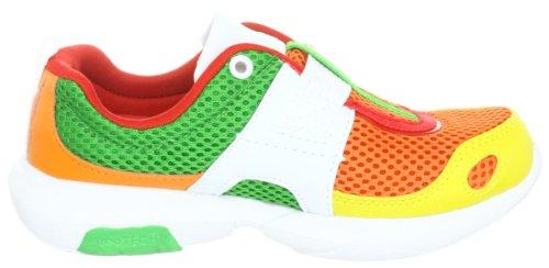 Glagla Flash 102014, Baskets mode mixte enfant Orange (TR-B1-Orange-3)