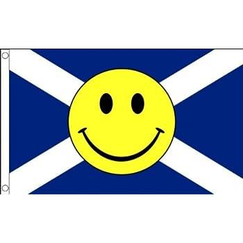 PINK 5ft x 3ft Flag SMILEY FACE