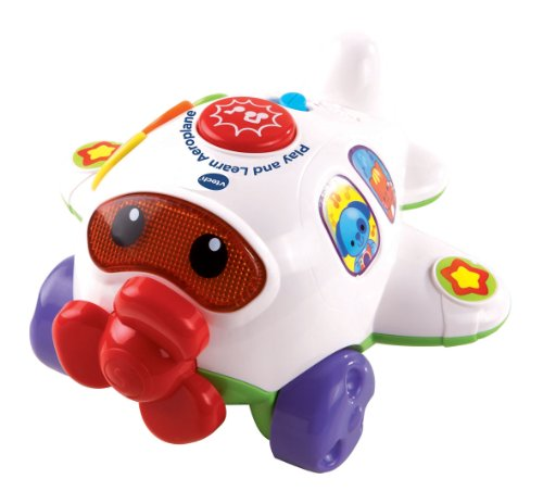VTech Baby Play and Learn Aeroplane - White