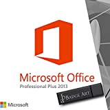 Microsoft® Office Professional 2013 Plus ISO USB. 32 bit & 64 bit - Original Lizenzschlüssel mit USB Stick von Badge Art®