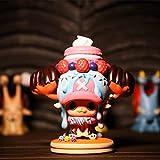 jhsajddaa One Piece Mano per Fare Ornamenti Rufy Nami Bambola Ornamenti Circostante Giocattoli Educativi Modello in Edizione Limitata per Bambini Candy Chopper 11 Centimetri