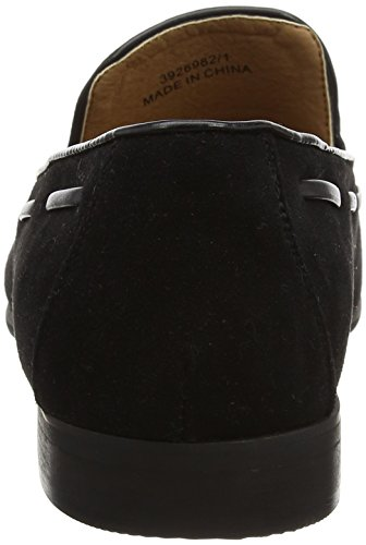 New Look Lace Detail, Mocassins Homme Noir (noir)