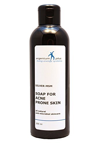 Silber-MSM Akne Seife 200 ml
