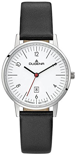 Dugena Women's Analogue Quartz Watch with Leather Strap 4460736