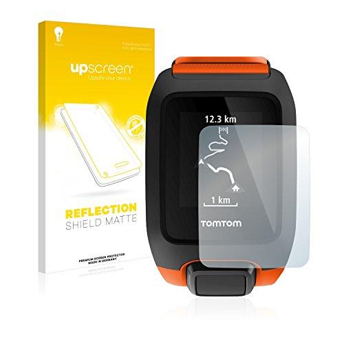 upscreen Entspiegelungs-Schutzfolie kompatibel mit Tomtom Adventurer - Anti-Reflex Bildschirmschutz-Folie Matt