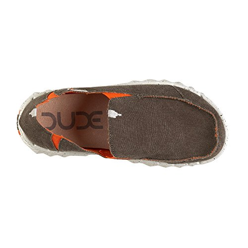 Dude Shoes - A collo basso uomo Brown