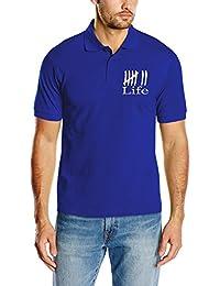 Touchlines D2231Men's Fashion Polo Shirt Life-Charlie Crews D2057