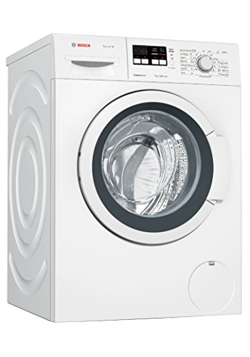 Bosch 7 kg Fully-Automatic Front Loading Washing Machine (WAK20163IN, White)