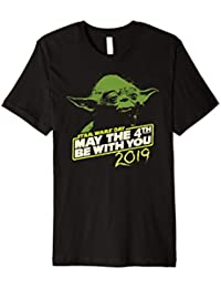 28c10da9 Star Wars Day Yoda May the 4th Be With You 2019 T-Shirt