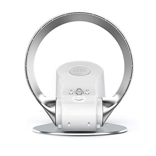 Ventilador de pared Ventilador eléctrico sin Hojas/Ventilador Ultra silencioso Ventilador de Escritorio...