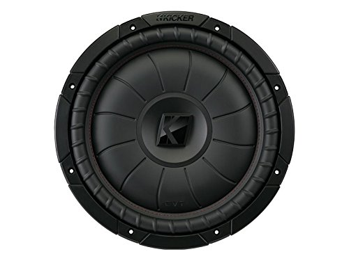 KICKER 43CVT122 12 Zoll Comp-VT Woofer Schwarz Compvt Car-audio-subwoofer