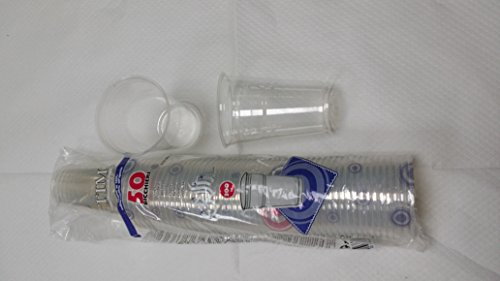Pz 300 bicchieri in plastica ml 300 per acqua bevande cocktail granite frappe' plastic cups bicchiere rigido