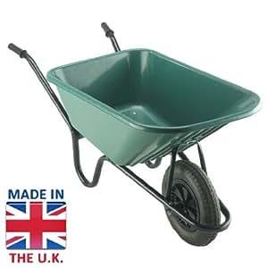 La Bristol Tool Company Brouette en plastique Gardent/Super Capacité stable avec roue de Massif–120Ltr/150kg