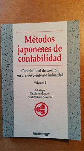 Metodos japoneses de contabilidad par Y. Monden