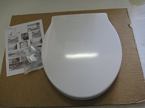 WC Sitz mit slow-close und Metallscharnieren, Serie Ove
