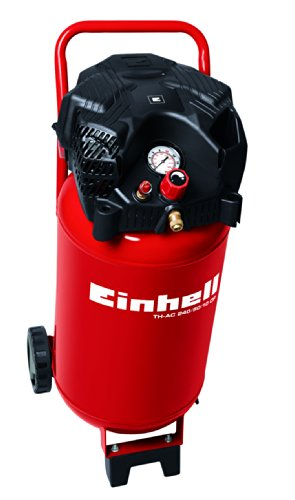 Einhell compressore 50 l, potenza 240 l/min, 10 bar, 1 cilindro, th-ac 240/50/10 of, 1500 w