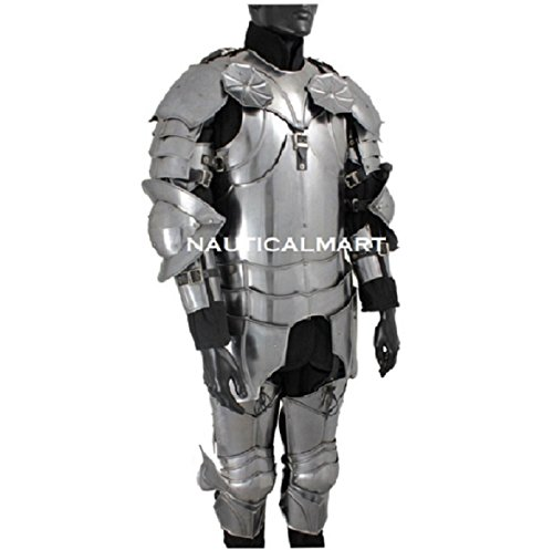 (LARP SUIT OF ARMOR- Gothic wearable Suit Of Armor)
