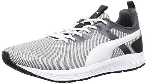 Puma Men's Progression Duo Idp Dark Shadow White Running Shoes-8 UK (42 EU) (9 US) (19336103_8)