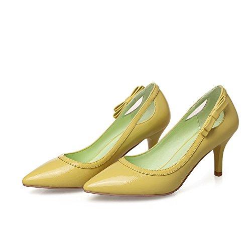 1TO9, Scarpe col tacco donna Yellow