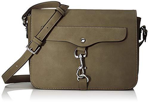 TOM TAILOR Umhängetasche Damen Fria, Grün (Khaki), 25.5x17x7 cm, TOM TAILOR Handtaschen, Taschen für Damen