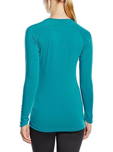 Asics FujiTrail Women's Baselayer (près Du Corps) T-shirt Course à Pied - SS17 blue