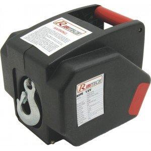 Ribitech PE12V Verricello Elettrico, 12 V, 25 A, 300 W