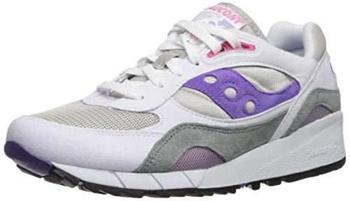 Sneaker Saucony Saucony Shadow 6000 Blanco/Gris/Morado Zapatillas-UK 11 / EU 46.5