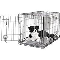 Dogit Cage 2 portes en métal Noir 77x48x54,4 cm
