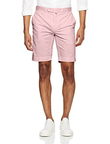HACKETT LONDON Herren Core Stretch Shorts Mehrfarbig (Ash Rose 323)