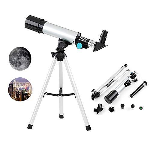 JLNHSHDR Telescopios portatiles Principiantes astronomía
