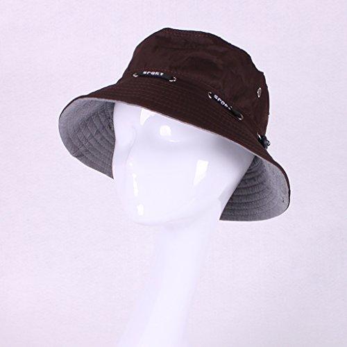 chapeau de soleil Le cap de plage est enroulé par des rayons UV le long de la courbure pliable ( Couleur : #4 ) #13