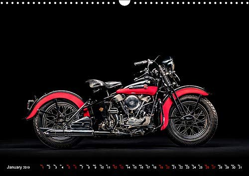 Motorcycle Legends (Wall Calendar 2019 DIN A3 Landscape): A selection of great classic motorbikes (Monthly calendar, 14 pages ) (Calvendo Technology)
