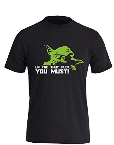 Up the shut Fuck you must - Herren T-Shirt in Größe XXXL