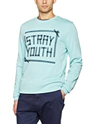 Jack & Jones Jortape Crew Neck, Sweat-Shirt Homme