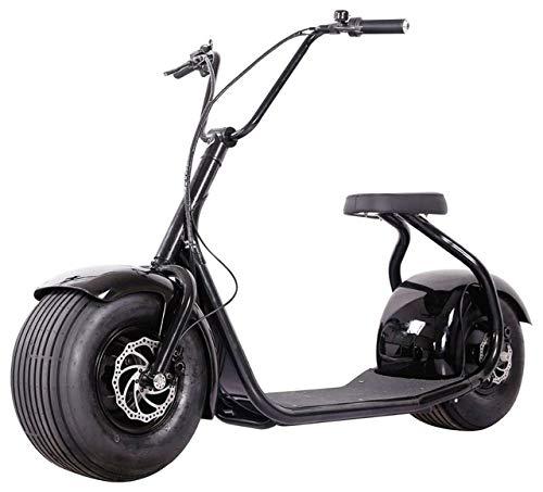 E-Scooter Chopper N1, 2000 Watt E-Motor, 45 km/h, Elektroroller, E-Roller, E-Tretroller,Elektro-Roller, Produktvideo, schwarz