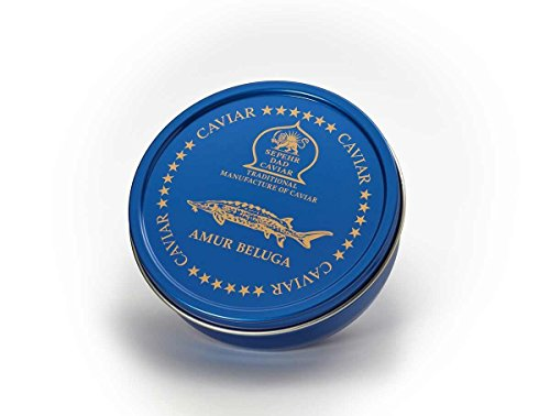 Amur Beluga Kaviar, 125g Dose